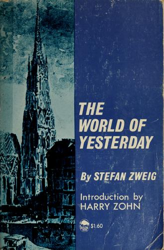Download The world of yesterday