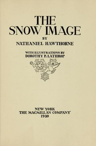 The snow image