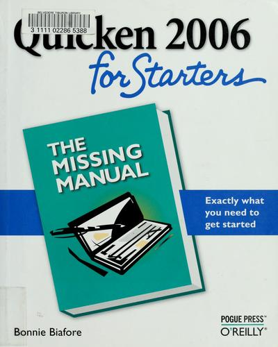 Download Quicken 2006 for starters