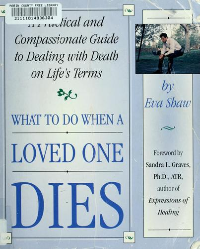 Download What to do when a loved one dies
