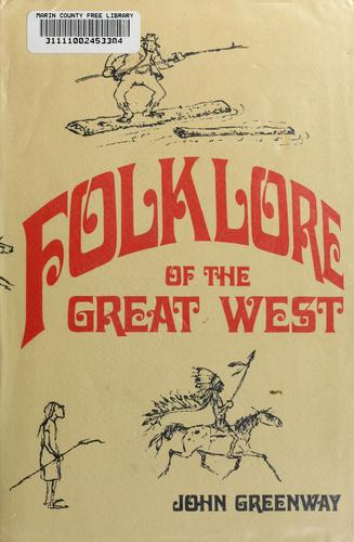 Download Folklore of the great West