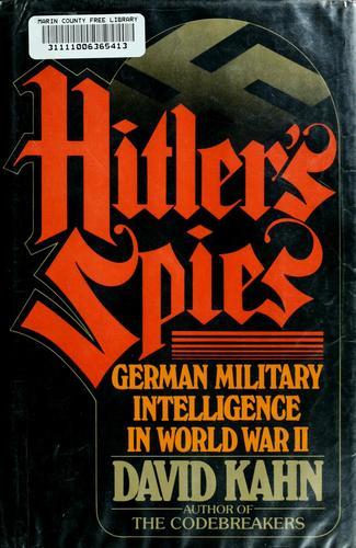 Download Hitler's spies