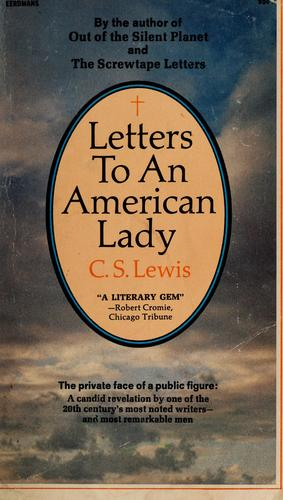 Download Letters to an American lady
