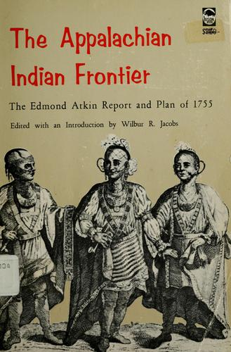 The Appalachian Indian frontier