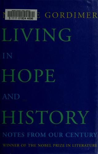 Download Living in hope and history