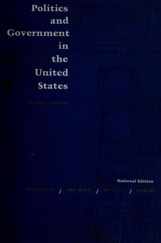 Download Politics and government in the United States