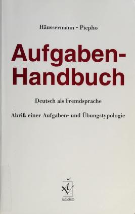 Cover of: Afugaben-Handbuch | Ulrich Häussermann