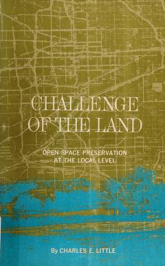Cover of: ... Challenge of the land | Little, Charles E.