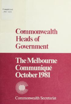 Cover of: Commonwealth Heads of Government | The Commonwealth Secretariat