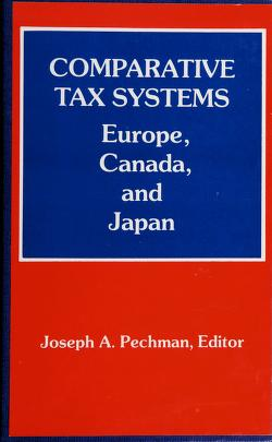 Cover of: Comparative tax systems   Joseph A. Pechman, editor ; contributing authors, Krister Andersson ... [et al.].
