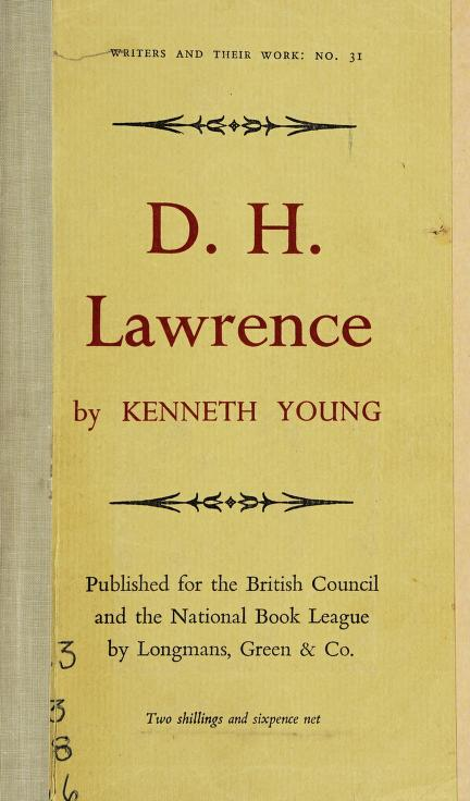 D. H. Lawrence by Young, Kenneth