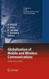 Cover of: Globalization of Mobile and Wireless Communications