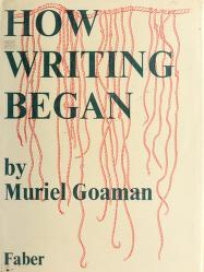 Cover of: How writing began | Muriel Goaman