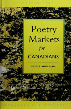 Cover of: Poetry Markets for Canadians | James Deahl