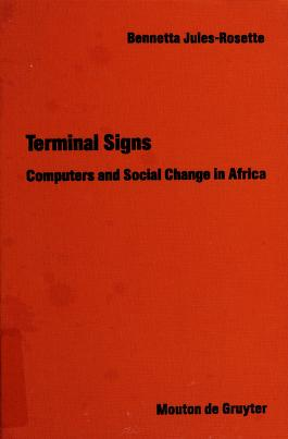Cover of: Terminal signs   Bennetta Jules-Rosette