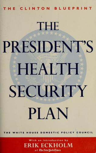 The President's health security plan