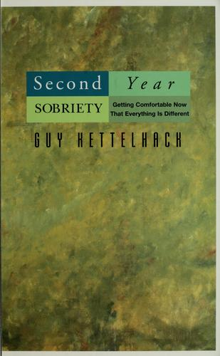 Second-year sobriety