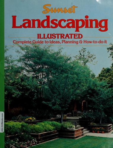 Sunset landscaping illustrated by