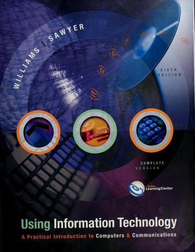 Using information technology by Brian K. Williams
