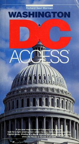 Washington, DC access by Richard Saul Wurman