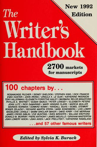 The Writer's handbook by Sylvia E. Kamerman