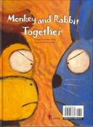Monkey and Rabbit Together by Mike Lockett