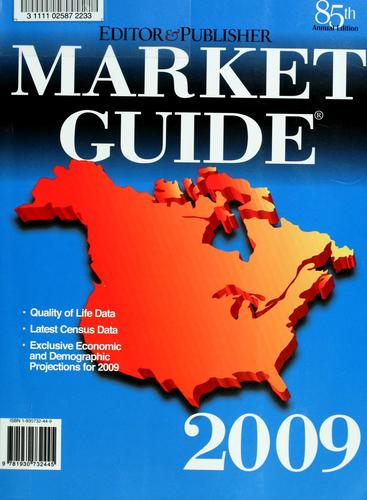 Editor & publisher market guide, 2009 by Carlynn Chironna