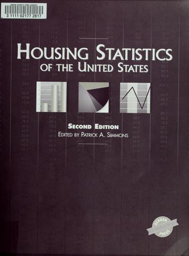 Housing statistics of the United States by Patrick A. Simmons