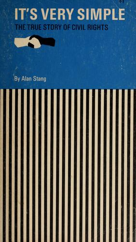It's very simple by Alan Stang
