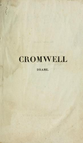 Cromwell by Victor Hugo