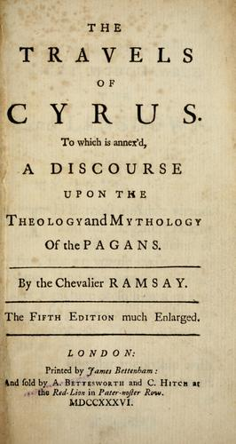 The travels of Cyrus by Ramsay Chevalier