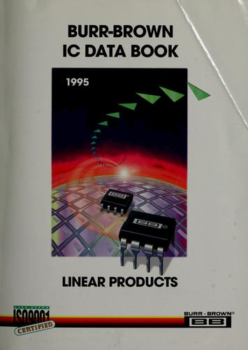 Burr-Brown integrated circuits data book by
