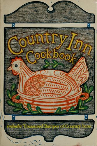 Country inn cookbook by
