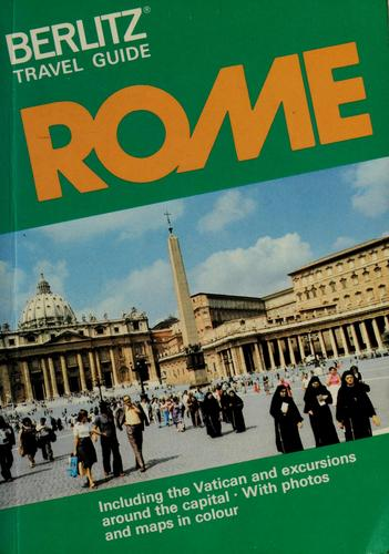 Rome by Editions Berlitz S.A.