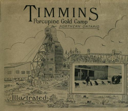 Timmins, Porcupine Gold Camp, northern Ontario by