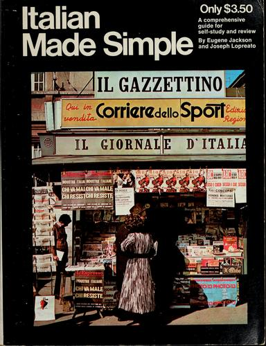 Italian made simple by Eugene Jackson