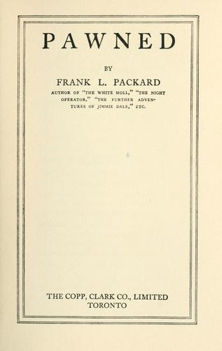 Pawned by Frank L. Packard