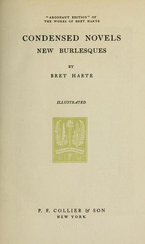 Works. -- by Bret Harte