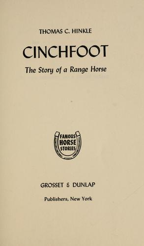 Cinchfoot by Thomas C. Hinkle