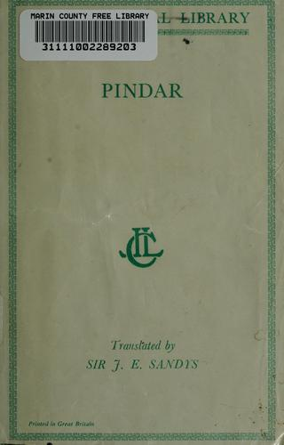 The odes of Pindar by Pindar