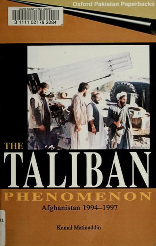 The Taliban phenomenon