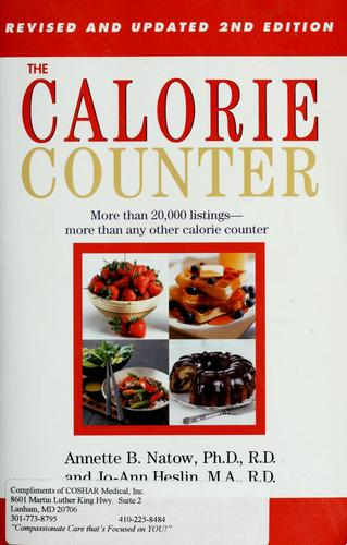 The calorie counter by Annette B. Natow